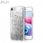 Blun 3D Prism Formas Super PlÄ?ns silikona aizmugures maks-apvalks priekÅ? Samsung G965F Galaxy S9 Plus CaurspÄ«dÄ«gs