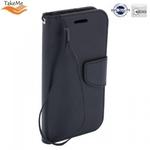 Takeme Fancy Diary Book Case ar stendu Huawei Mate 20 Pro sāniski atverams Melns