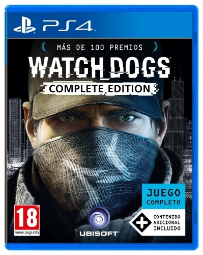 Playstation Sony PS4 Watch Dogs Complete Edition